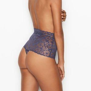 Victoria's Secret PINK No Show Mesh Thong Panty